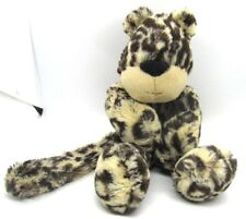 """JellyCat Merryday Spotted Leopard large 16"""" tall Floppy Long Legs Arms"""