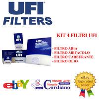 KIT TAGLIANDO UFI 4 FILTRI ALFA MiTo 1.6 JTDm 16V 120 CV CODICE MOTORE 955A300