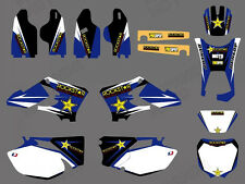 Decal Sticker Graphic Kit Motorcross For Yamaha WR250F WR450F WRF 250 450 05-06