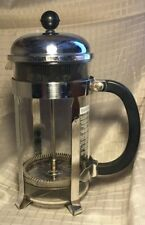 Bodum CHAMBORD (1928) 8 Cups Coffee Maker French Press- Clear