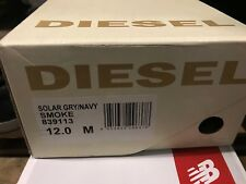 Diesel smoke shoes in Grey and Navy Men's size 12 US