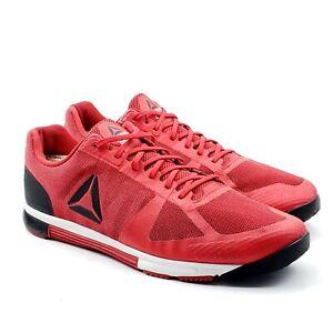 Reebok Crossfit Speed TR 2.0 Mens Red Cross Training Shoes Sz 12 UK 11 EUR 45.5