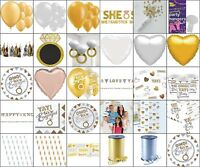 Engagement Party Supplies Banners Plates Balloons Garland Confetti Table Cups