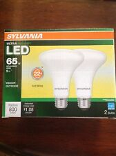 Sylvania 2PK UltraLED 9W (65W Equiv.) Flood 800 lumens In/Outdoor Dimmable BR30