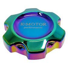 K-Motor Performance Billet Aluminum Oil Filler Cap Neo Chrome - Fits Honda Acura
