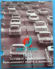 1969 Jet Air Auto Air Conditioning Replacement Parts & Supplies Catalog