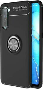 For OPPO Find X2 Lite Case, Magnetic Ring Armour Shockproof Stand Phone Cover
