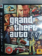 GRAND THEFT AUTO IV (GTA 4). JUEGO PARA SONY PLAYSTATION 3 PS3. PAL-UK. USADO.