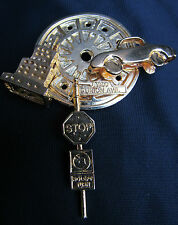 Set w/ New York City Label Pins Vintage Ballou Reg'd Lapel Pin Collector Brooch