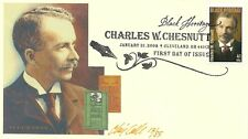 BLACK HERITAGE, AUTHOR & ACTIVIST CHARLES CHESNUTT, CHRIS CALLE DESIGNED