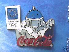 ATHENS 2004 OLYMPIC PIN COCA-COLA GREEK ISLE ROOF PIN
