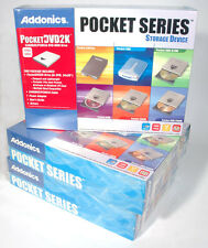 NEW ADDONICS PCMCIA EXTERNAL DVD ROM CD DRIVE CARDBUS AEPDVD2k8x24 red one