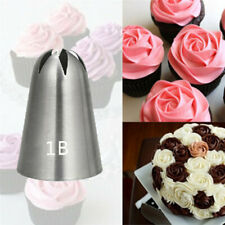 Large Rose Cream Icing Piping Nozzles Stainless Steel Pastry Tips Nozzle