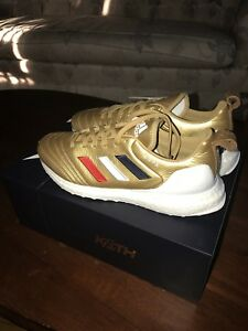 Kith x Adidas COPA Mundial 18 Ultra Boost Gold - Size 9