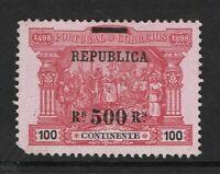 Portugal SC# 198, Mint No Gum, Hinge Remnants - S7824