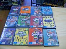 9 Sims2 and 3 Sims video Games 12 games in total - Sell for Charity