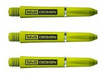 Winmau MvG Design Michael Van Gerwen Nylon Green Darts Stems SHORT 35mm
