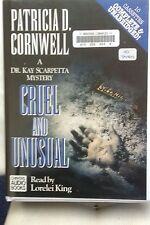 Cruel and Unusual by Patricia D Cornwell: Unabridged Cassette Audiobook (R4)