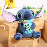 "LILO & STITCH Stitch and Scrump 24cm/9.6"" Soft Plush Stuffed Doll Toy Plush"