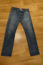 one jean's jeans Levi's levi Strauss 501 blue used size w34 l36, size 44