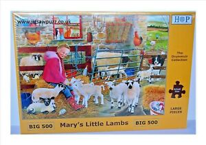 Marys Little Lamb New Release Big 500 Drummuir House of Puzzles Jigsaw Puzzle