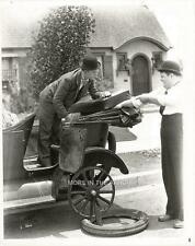 STAN LAUREL AND OLIVER HARDY A PERFECT DAY HAL ROACH FILM STILL #8