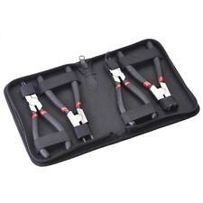 "4x 6"" Circlip Plier Set Snap Ring Pliers Internal External Bent Straight Tool"
