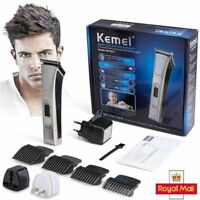 Mens Hair Clippers Cordless Professional Electric Nose Beard Trimmer Shaver Sets