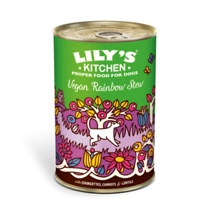 Lily's Kitchen Vegan Rainbow Stew (6 x 400g) brand new dog wet food RRP £18