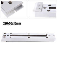 New Wire Edm Fixture Board Stainless Jig Tool Clamping&Leveling Us 220x50x15mm