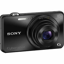 Sony Black 12.1MP Cyber-Shot Digital Camera w 4x Optical Zoom - DSC-W220/B