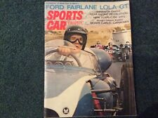 Sports Car Graphic Magazine May 1963