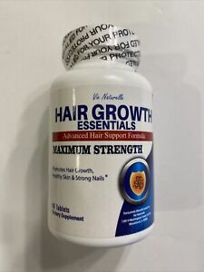 Vie Naturelle Advanced Hair Growth Essentials Supplement Maximum Strength 90 Tab
