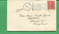 New Hampshire Cover - Exeter 1908 AMF - B14 S8500