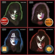Kiss Picture Disc LPs x4 Ace Frehley Gene Simmons Peter Criss Paul Stanley NEW