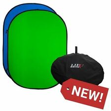 Life Of Photo 102x153cm Reversible Blue and Green Chromakey Folding Background