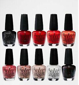 OPI Mini Nail Varnish Lacquer/Infinite Shine 2 - 3.75ml - Choose your shade