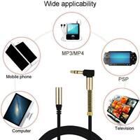 3,5mm Klinkenstecker auf Buchse Audio-Stereo-Aux-Kabel Verlängerungskabel A1M8
