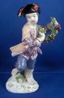 Antique 18thC Meissen Porcelain Boy Gentleman Figurine Porzellan Figure Figure
