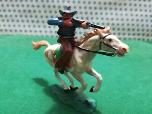 Cowboy IN Horse Old Wilde West - Elastolin 70 MM