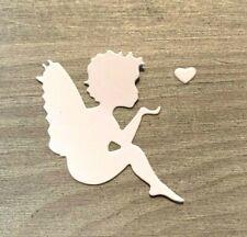 Stanzschablone/ Cutting dies Engel mit Herz Weihnachten xmas, 3,5 x 5,5 cm