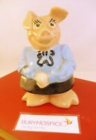 Vintage Natwest Wade Piggy Bank Lady Hilary with Stopper (WH_11040)