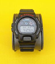 Casio Men's G-Shock Model DW6900 Classic Black Resin Digital Chrono Sport Watch