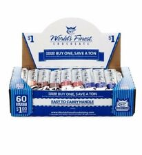 World's Finest Chocolate - Sealed Box-  60 Variety $1 Bars -