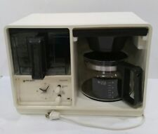 Vintage Space Saver Coffee Maker Pot Machine 10 Cup Black Decker Automatic Drip