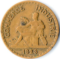 COIN / FRANCE / 50 CENTIMES  1923  CHAMBERS DE COMMERCE  #WT3310