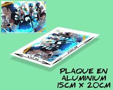 plaque murale ou porte aluminium (15x20cm) BLUE EXORCIST - MANGA
