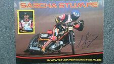 AK m.Orig.AG Sascha Stumpe GER Speedway Langbahn Weltklasse