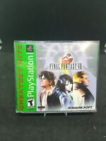 Final Fantasy VIII 8 - PlayStation 1 - PS1 - COMPLETE w/ Manual GREAT SHAPE!