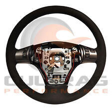 2005-2013 C6 Corvette Genuine GM Suede Manual Steering Wheel Blue Stitching